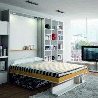 LIt escamotable LINEA + canapé ouvert